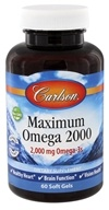 Carlson Labs - Maximum Omega 2000 - 60 Softgels