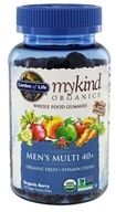 mykind organics multi 40 hommes + fruits entiers gélifiés berry - 120 Gummies