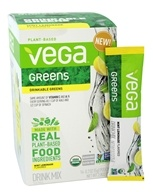 Vega - Organic Greens Drink Mix Mint Lemonade - 16 Count