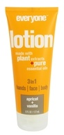 EO Products - Everyone 3 in 1 Lotion Apricot + Vanilla - 6 oz.