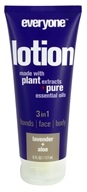 EO Products - Everyone 3 in 1 Lotion Lavender + Aloe - 6 oz.