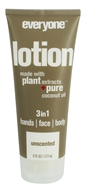 EO Products - Everyone 3 in 1 Lotion Unscented - 6 oz.
