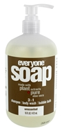 EO Products - Everyone 3 in 1 Soap Unscented - 16 oz.