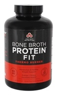Ancient Nutrition - Bone Broth Protein Fit Thermo Burner - 180 Capsules
