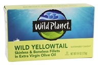 Wild Planet - Wild Yellowtail in Extra Virgin Olive Oil - 4.4 oz.