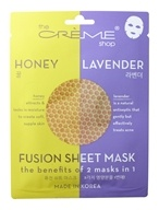 2 in 1 Honey Lavender Fusion Facial Sheet Mask - 1 Count by The Creme Shop