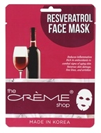 The Creme Shop - Resveratrol Face Mask - 1 Count