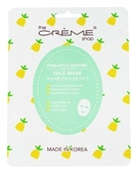 The Creme Shop - Pineapple Enzyme Infused Face Mask - 1 Count