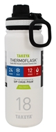 Double-Wall Vacuum Insulated Stainless Steel Thermoflask Snow - 18 oz. by Takeya USA