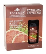 Óleo Essencial Natural Grapefruit Rosa e Vetiver - 0.5 oz.