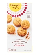 Simple Mills - Crunchy Cookies Naturally Gluten-Free Cinnamon - 5.5 oz.