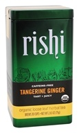 Rishi Tea - Organic Caffeine Free Loose Leaf Herbal Tea Tangerine Ginger - 2.65 oz.