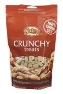 Nutro - 100% Natural Crunchy Dog Treats with Real Peanut Butter - 10 oz.