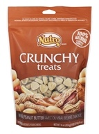Nutro - 100% Natural Crunchy Dog Treats with Real Peanut Butter - 16 oz.
