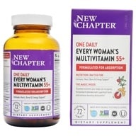 New Chapter - Every Woman's One Daily 55+ Multi - 72 Vegetarian Tablets