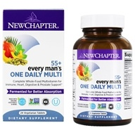 New Chapter - Every Man's One Daily 55+ Multi - 24 Vegetarian Tablets
