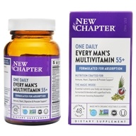 New Chapter - Every Man's One Daily 55+ Multi - 48 Vegetarian Tablets