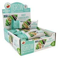 Go Raw - Organic Sprouted Plant Protein Bars Mint Chocolate - 12 Bars