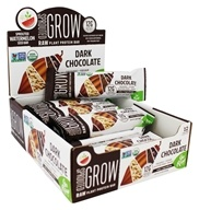 Go Raw - Organic Sprouted Plant Protein Bars Dark Chocolate - 12 Bars