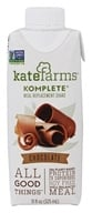 Kate Farms - Komplete Meal Replacement Shake Chocolate - 11 oz.