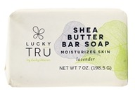 Shea Butter French Milled Bar Soap Lavendel - 7 oz. by LuckyTru