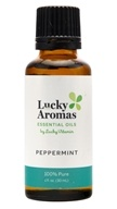 LuckyAromas - 100% Pure Essential Oil Peppermint - 1 fl. oz.