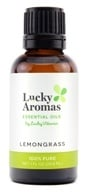 100 % Pure Lemongrass all'olio essenziale - 1 fl. oz. by LuckyAromas