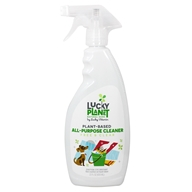 LuckyPlanet - Plant Based All-Purpose Cleaner Spray Free & Clear - 22 fl. oz.