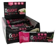 FitMiss - Delight Baked High Protein Bar Chocolate Peppermint - 12 Bars