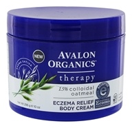 Avalon Organics - Eczema Relief Body Cream - 10 oz.
