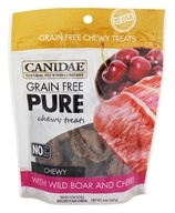 Canidae Pet Foods - Grain Free Pure Chewy Dog Treats With Wild Boar & Cherry - 6 oz.
