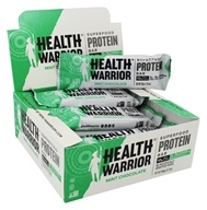 Health Warrior - Superfood Protein Bar Mint Chocolate - 12 Bars