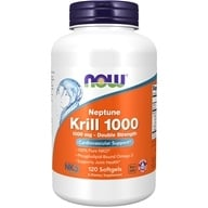 NOW Foods - Neptune Krill 1000 1000 mg. - 120 Softgels