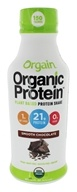 Orgain - Organic Protein Plant Based RTD Protein Shake 21g Smooth Chocolate - 14 oz.