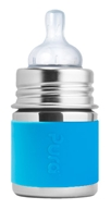 Pura - Stainless Steel Infant Bottle Aqua Sleeve - 5 oz.