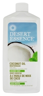 Desert Essence - Mouthwash Coconut Oil - 16 oz.