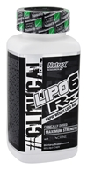 Lipo6 Rx Rapid Weight Loss Aid Maximum Strength - 60 Liqui-Caps by Nutrex