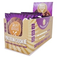 Buff Bake - Protein Cookie Chocolate Chocolate Chip - 12 Cookies