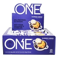 ONE Protein Bar Blueberry Cobbler - 12 Bars Formerly OhYeah! One Bar