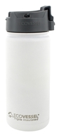 EcoVessel - TriMax Triple Insulated Stainless Steel Water Bottle Whiteout - 16 oz.