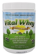 Vital Whey - Grass-Fed Whey Protein Natural Vanilla - 21 oz.
