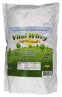Vital Whey - Grass-Fed Whey Protein Natural Vanilla - 2.5 lbs.