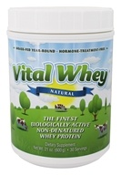 Vital Whey - Grass-Fed Whey Protein Natural - 21 oz.