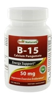 Best Naturals - Vitamin B15 Calcium Pangamate Energy Support 50 mg. - 120 Tablets