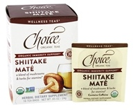 Choice Organic Teas - Shiitake Mate - 16 Tea Bags