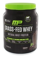 Muscle Pharm - Grass-Fed Natural Whey Protein 14 Servings Chocolate - 1 lbs.