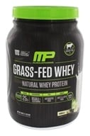 Muscle Pharm - Grass-Fed Natural Whey Protein 28 Servings Vanilla - 1.85 lbs.