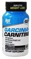 Garcinia + Carnitine Non-Stim Weight Loss - 60 Tablets by BPI Sports