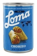 Loma Blue Vegan Chorizo - 15 oz.