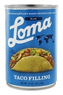 Loma Blue Vegan Taco Filling - 15 oz.